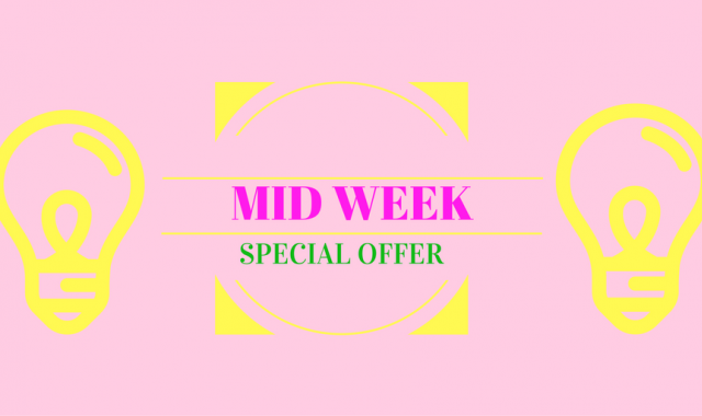 MID WEEK STAY: SCONTO DEL 5%